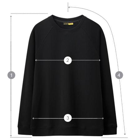 卫衣落肩袖制版结构图
